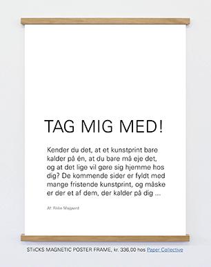 Artikel med plakater og kunstprint