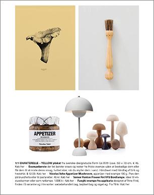 Artikel med svampe som inspiration